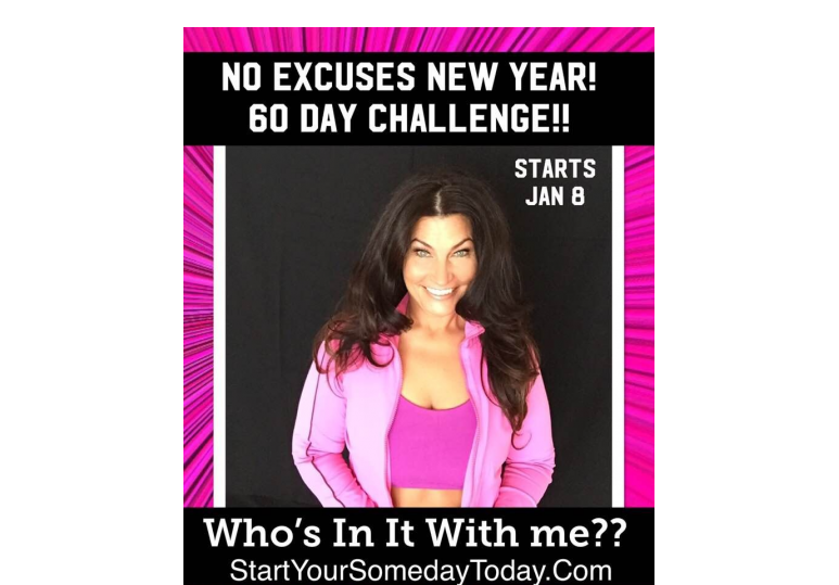 NO EXCUSES NEW YEAR image